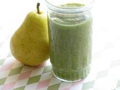 Pear & vanilla green smoothie